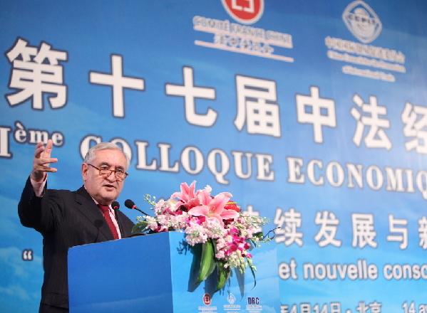 Raffarin reconnaît que la France doit s'associer à la Nouvelle Route de la soie