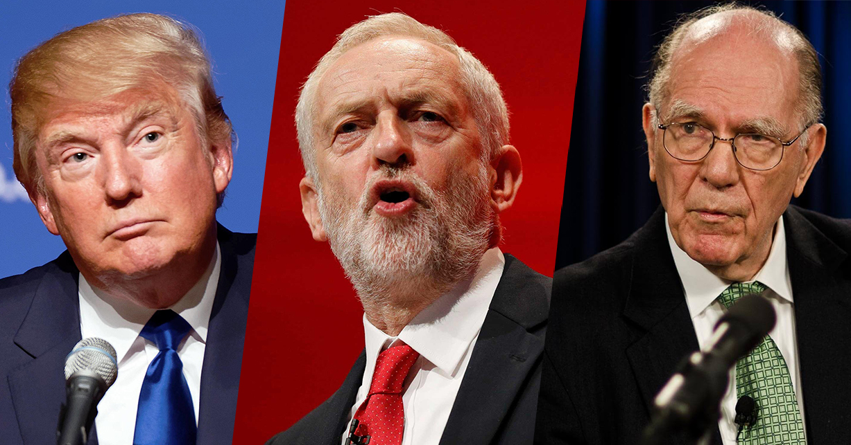 Trump, Corbyn, LaRouche… Pourquoi ils veulent leur tête