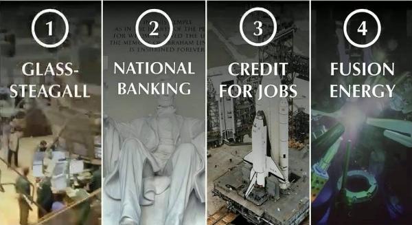Economie mondiale: les quatre principes cardinaux de LaRouche d'une sortie de crise