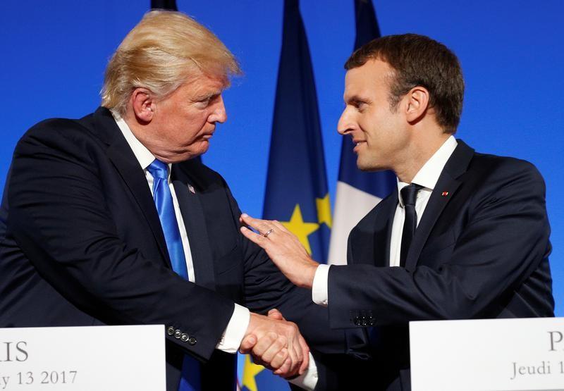 Trump et Macron veulent faire la paix avec la Russie et la Chine, oseront-ils déclarer la guerre à Wall-Street?