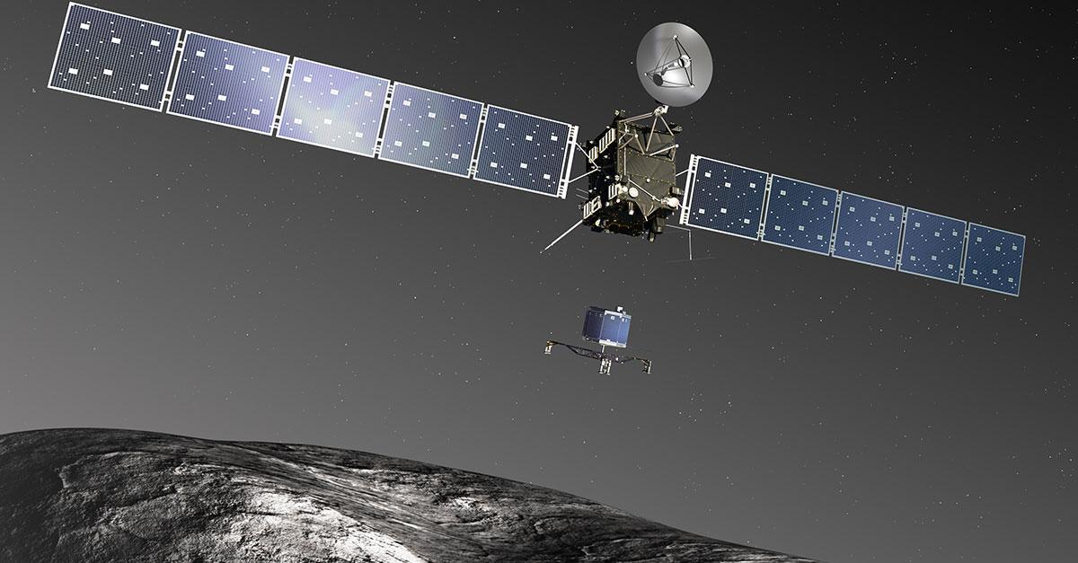 La sonde Rosetta, éclaireur du futur