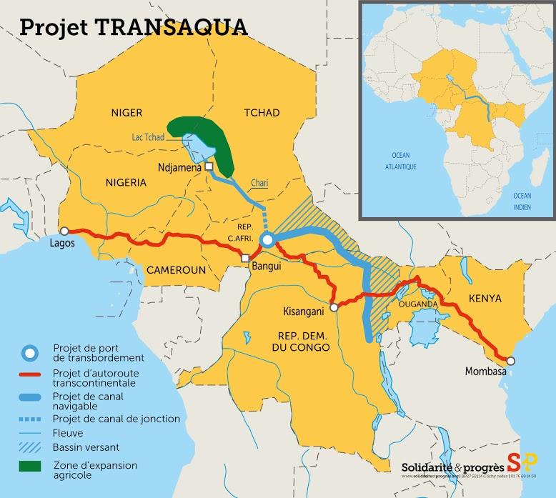 Le projet Transaqua, antidote au terrorisme de Boko Haram