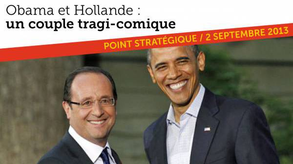 Hollande & Obama : un couple tragi-comique