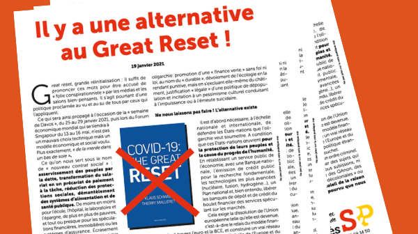 Notre tract : Il y a une alternative au Great Reset !