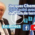 VIDEO - Cheminade et des élus locaux font le point
