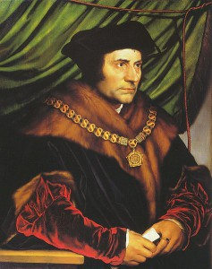 Thomas More, peint par Holbein