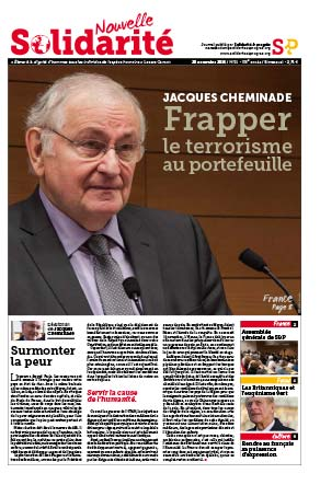 Jacques Cheminade: frapper le terrorisme au portefeuille