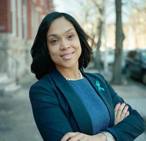 Marilyn Mosby, procureure de l'Etat du Maryland.