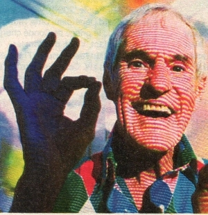 Timothy Leary (1920-1996).
