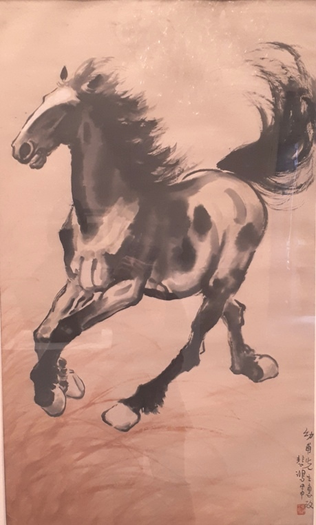 Cheval Courant Xu Beihong 1944