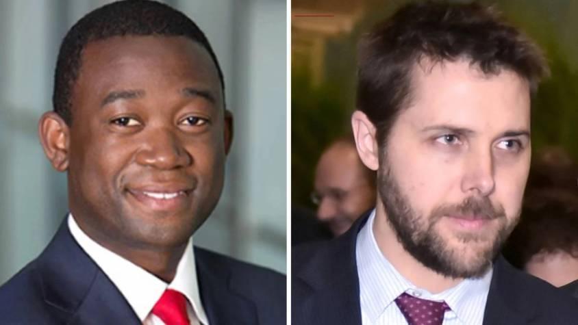 Joe Biden a choisi deux cadres de BlackRock pour son administration : Wally Adeyemo (à gauche) et Brian Deese.